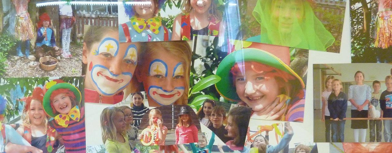 Bunte Kinder der Servatiusschule